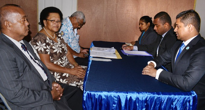 SODELPA, NFP Submit Candidates' Nominations