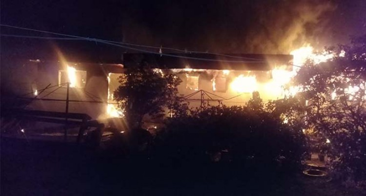 Fire Destroys Nadi Home