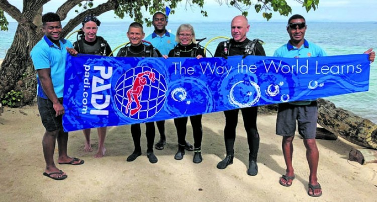 Toberua Island Resort Adopts Dive Site