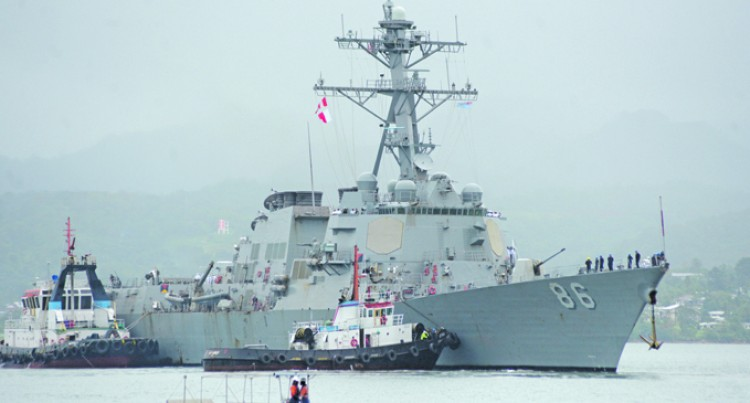 US Navy To Strengthen Relations  With Fijian Counterparts