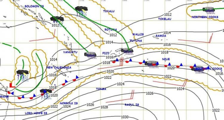 Heavy Rain Warning For Yasawas, Mamanuca, Vanua Levu