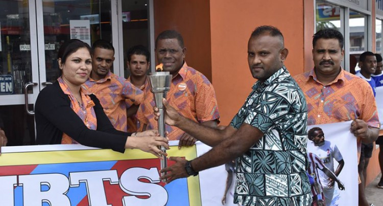 Courts IDC Torch Reaches Suva As Football Spirit Grips City