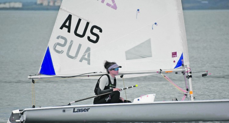 Female Sailor Takes On Challenge