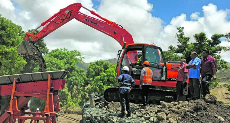 Gravel Extraction Project To Benefit Villagers