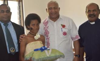 Smiles as PM Bainimarama Opens  Rural School Block, Quarters