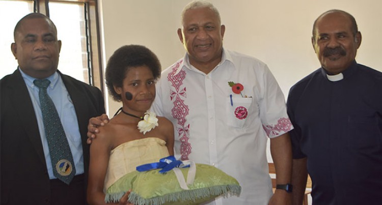 Smiles as PM Bainimarama Opens  Rural School Block, Quarters