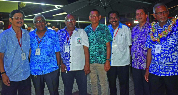 Lifelong Friends Reunite At Nadi Airport