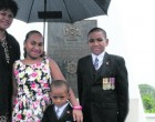 Remembrance Day: Mother, Children Remember Late Dad