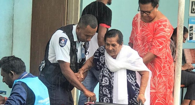 Despite Disability Raji, 88, Goes To Vote