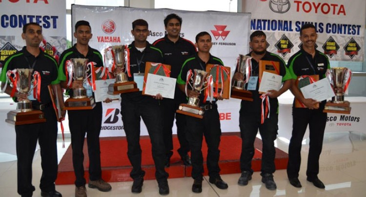 Asco Motors Host National Skills Contest