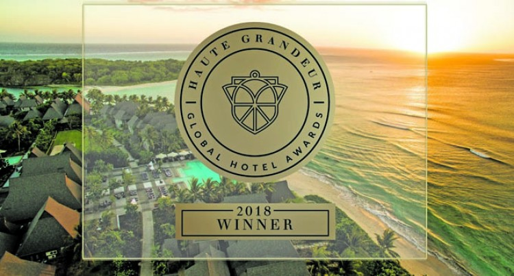 InterContinental Fiji Crowned In 2018 By Haute Grandeur With Four Luxury Awards