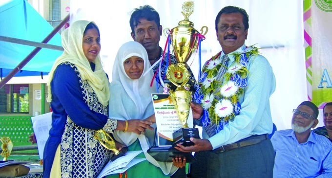 Shaleha Reaps Reward Of Hard Work