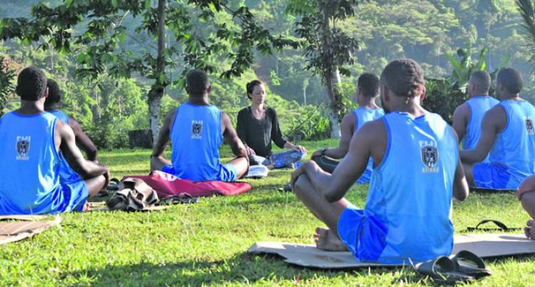 Residents Take Up Yoga