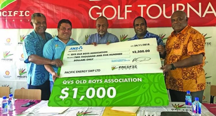 Pacific Energy Backs Druavesi Golf Comp