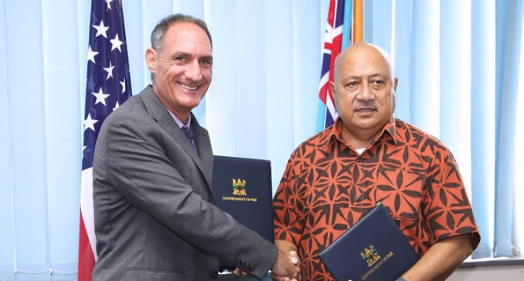 USA-Fiji Arrangement To Protect Sovereignty, Help Police Waters