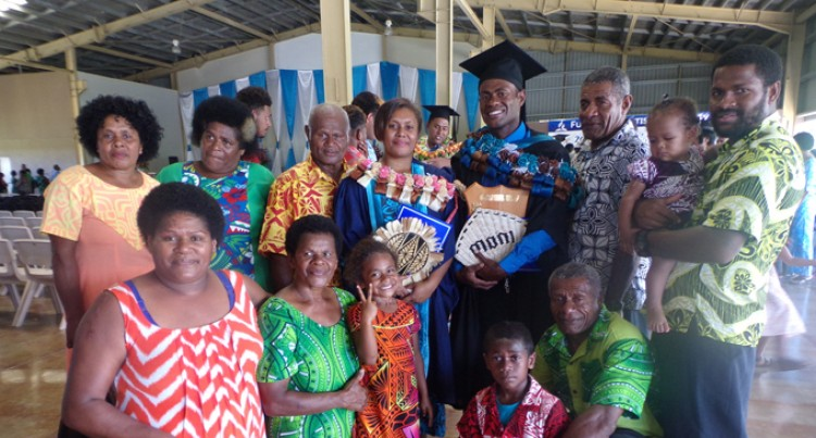 Family Came By 5-Tonne Truck To Witness Ratu Filimoni Graduate