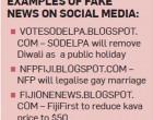 Beware Of Fake News In Social Media Posts