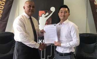 Kinton, basketball deal