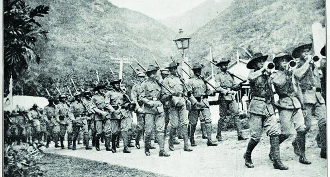 Remembrance Day: Fiji Involvement In The Liberation Of German Samoa In 1914
