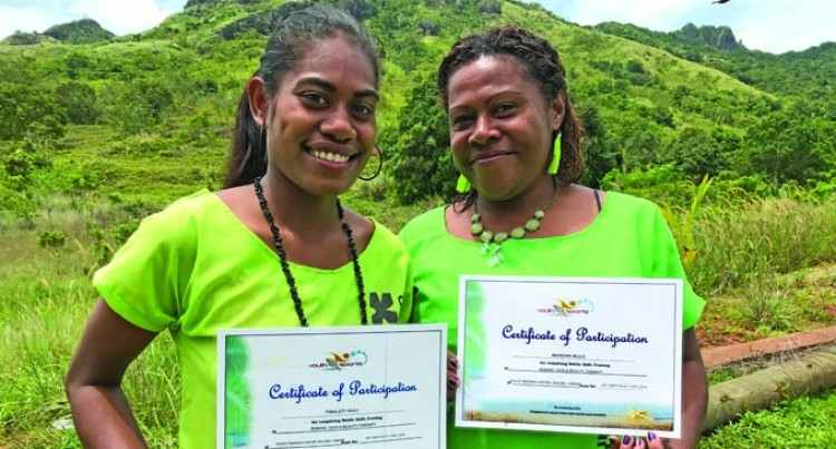 Aunt, Niece Graduate From Youth Centre