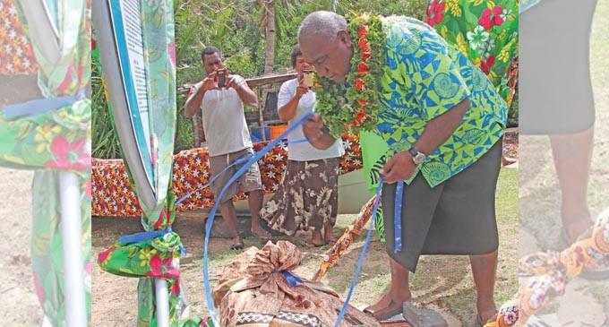 Kawakawa, Donu Spawning Area In Kadavu Becomes Marine Reserve