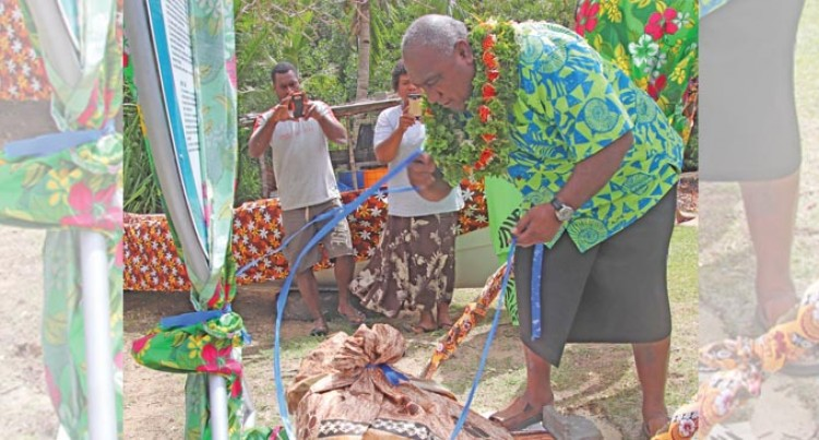 Kawakawa, Donu Spawning Area In Kadavu Becomes Marine Reserve