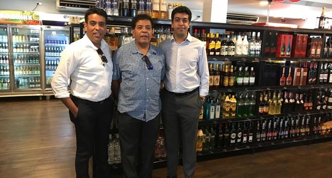 P Meghji Wine and Liquor Shop Reopens In Suva. Better