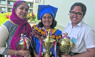 Maneeza Follows Sister To Be Dux