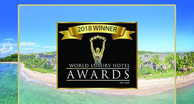 InterContinental Resort Recognised  At World Luxury  Hotel Awards 2018