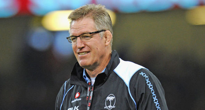 Fiji Airways Flying Fijians head coach John McKee.