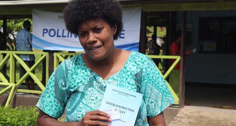 Fiji Votes: Undecided Voter Makes Vote Count