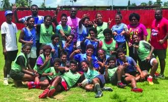 Macuata Women Take Up Rugby