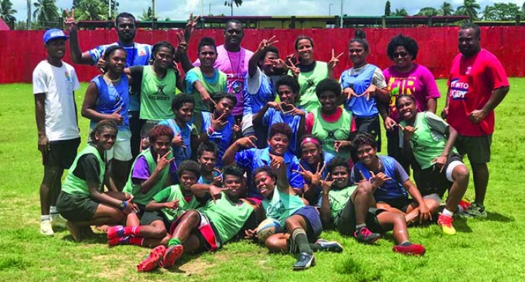 Macuata Women Take Up Rugby