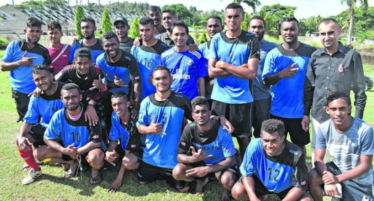 Blues FC On Track