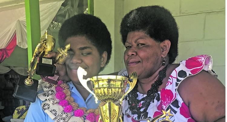 Mum Sheds Tears As Naomi Takes Dux Prize