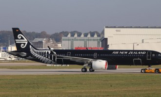 Air New Zealand A321neo Aircraft Auckland -Nadi Service in Jan, 2019