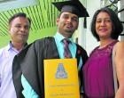 Graduate Prasad Credits Parents As Driving Force