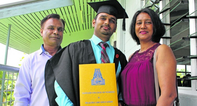Graduate Prasad Credits Parents As Driving Force