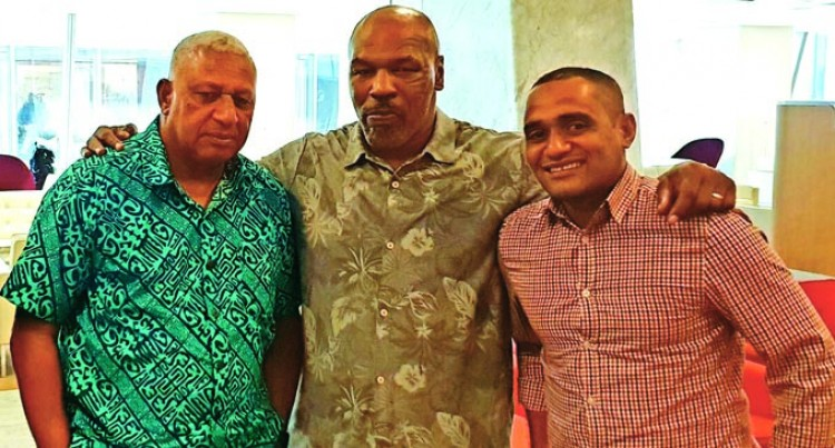 Bainimarama Meets Up With Iron Mike