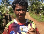 Fiji Votes: Parents Encourage Their Daughter to Cast Her Vote