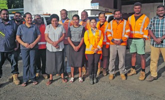 Opening of Refreshed Tavua Depot