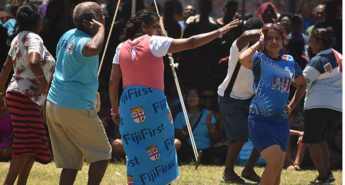 Togetherness at FijiFirst...FijiFirst party supporters having a fun time during the FijiFirst Family Fun Day in Churchill Park in Lautoka on November 10, 2018. Photo: Waisea Nasokia