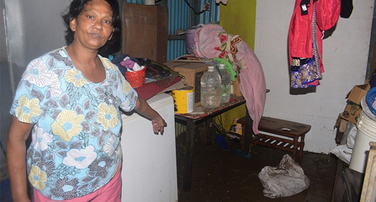 Flood Waters Damage Household Items