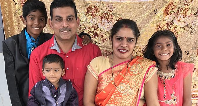 Teachers family preach message  of forgiveness