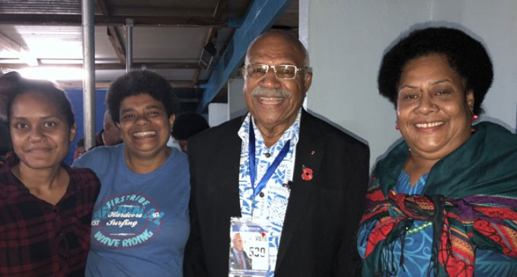 Rabuka Encourage Supporters To Vote For Area Candidates