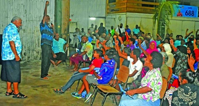 Councillor Applauds Govt's Community Response