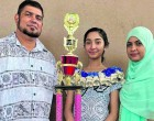 Faaizah Exemplifies Hard Work