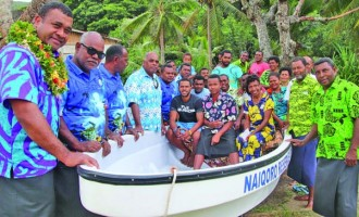 Boat Assists Fish Wardens Monitor Marine Area