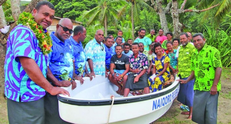 Boat Assists Fish Wardens Monitor Marine Area