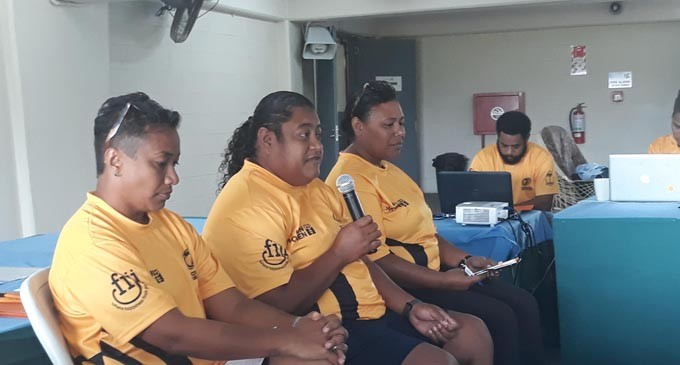 Kunatuba Coaches Tuvalu Men's 7s Team